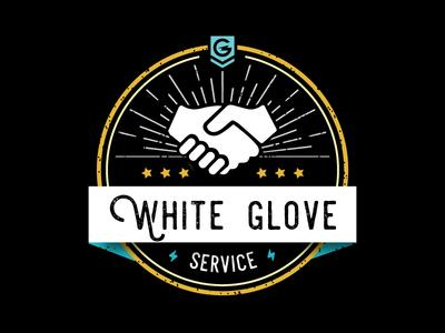 White Glove Service T-Shirt
