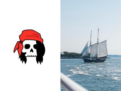 Pirate logo exploration