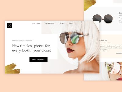 Daily UI 012: E-Commerce Shop daily ui store sunglasses fashion e-commerce