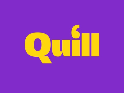 Logobook – Quill identity design branding brand indentity brand logo collection logo book graphic design logo grid logo design logotype logo logo designer