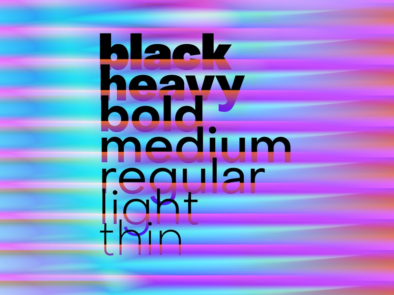 Object Sans Styles geometric sans sans serif sans neo grotesk typographer typography type designer font designer gradient geometric font type family font family type design font design custom type color free typeface typeface free font font