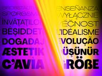 Agrandir Typeface