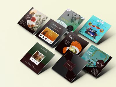 Social Media Creative Designs social media post typography ui branding graphic design design