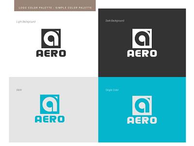 Aero Logo Design vector ui logodesign logo illustration icon graphic design design branding