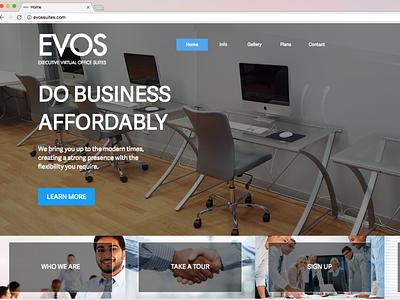 EVOS website design website web design design