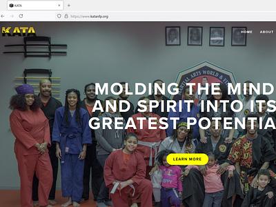 KATA squarespace website design website web design design