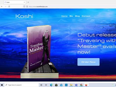Koshi squarespace website design website web design design