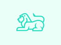 Sitting Lion Logo