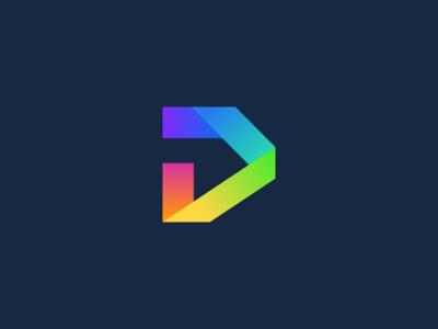 D Monogram Logo