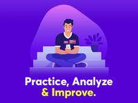 Practice. Analyze. Improve