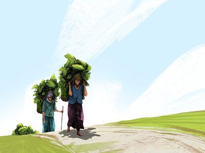 dadi characterdesign concept art character design illustration