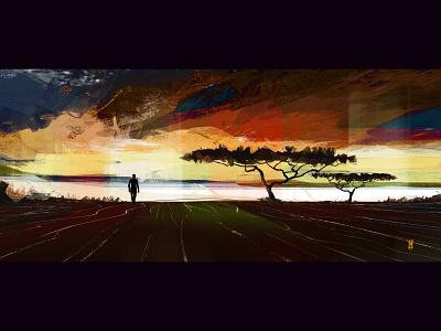 Tribute to The King art concept art digital art illustration