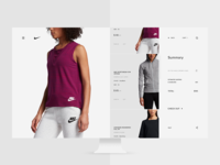Nike cart page