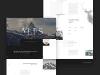Alps - landing page