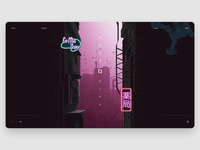MegaCity - Scrolling animation