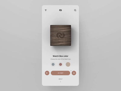 Watch Shop UI animation #2 motion mobile add to cart ecommerce app minimal design layout animation concept ux ui