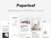 Paperleaf - Multipurpose WordPress Theme