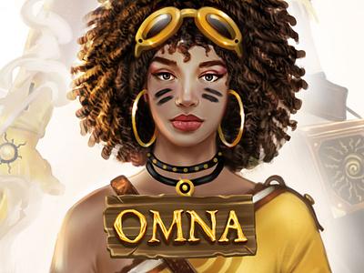 OMNA - Character design illustrator digital painting game concept art illustration gameart characterdesign