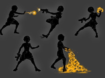 OMNA - Character Design digital painting istanbul illustrator illustration concept art gameart characterdesign