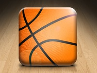Basketball ball icon