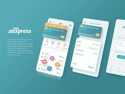 BKM Express - Card Mobile app UX/UI ux  ui uidesign uxdesign mobile app design interface userexperience mobile app mobile uxui ux