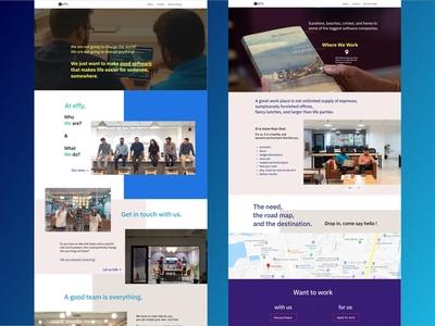 Website Design for Effy