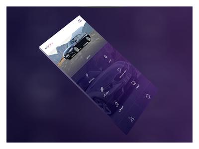 Persia Khodro Mobile app concept (part 2)