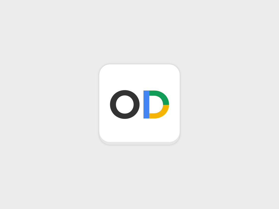 ODrive icon proposal app icons app icon app branding open source google vector logo inkscape flat icons