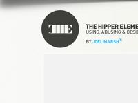 The Hipper Element Header