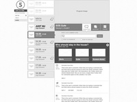 Live Program Chat: Wireframe