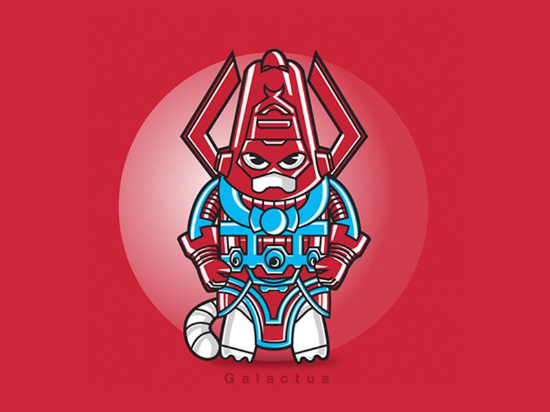 Galactus galactus villain character illustration