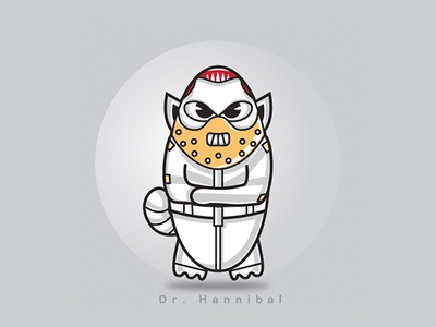 Hannibal hannibal villain character illustration