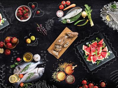 Terno branding branding chalkboard food terno