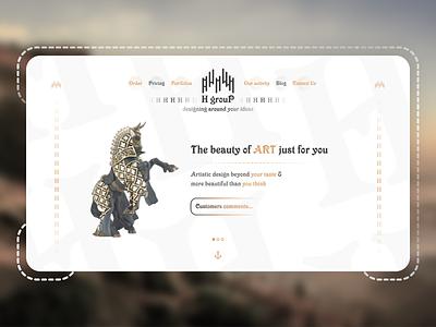 Website design company home page landing page landing company site graphic design design web design website web ux ui