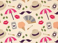 summer in brooklyn pattern