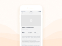 Daily UI #023 Crowd funding campaign