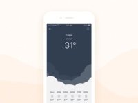 Daily UI #025 Weather