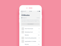 Daily UI #047 Workout of the day