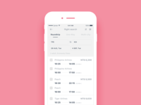 Daily UI #049 Flight search