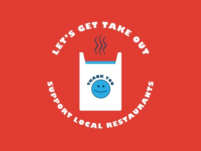 Let's Get Take Out small business restaurant delivery takeout covid19 coronavirus