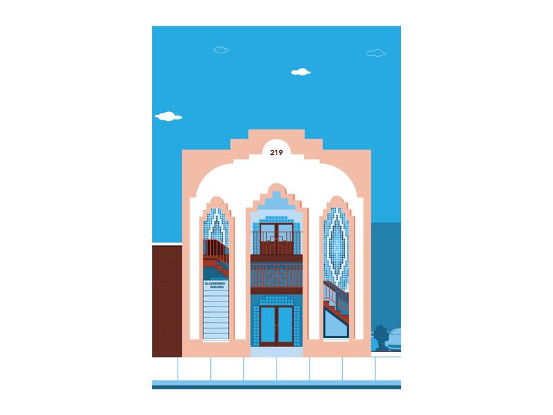 Building  Illustration vector illustration design