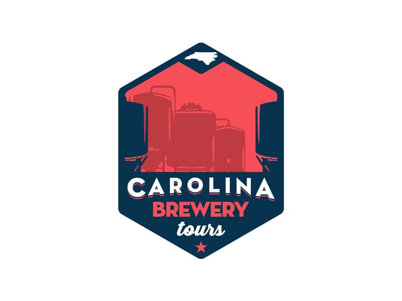 Brewery Tour Logo badge beer design logo branding brewery tour brewery branding brewery logo brewery