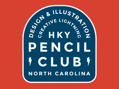 Pencil Club Badge
