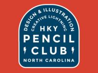Pencil Club Badge