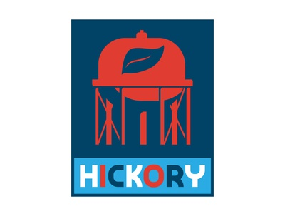 Hickory Water Tower 01