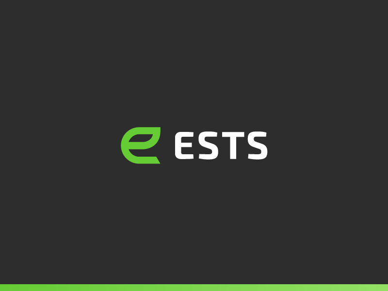 ESTS Concept fitness branding coaching practice injury prevention logo coach workout gym fitness