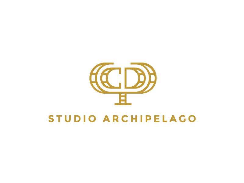 Studio Archipelago letter mark architecture interior design studio archipelago monogram minimal studio arts