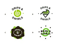 Drips And Swirls Concept