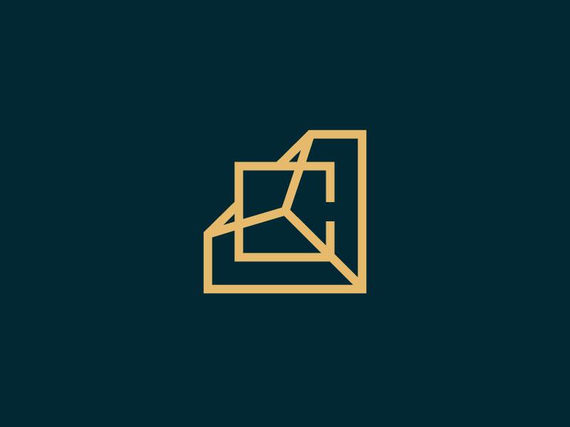 Studio Archipelago studio archipelago letter mark interior design studio monogram minimal arts architecture