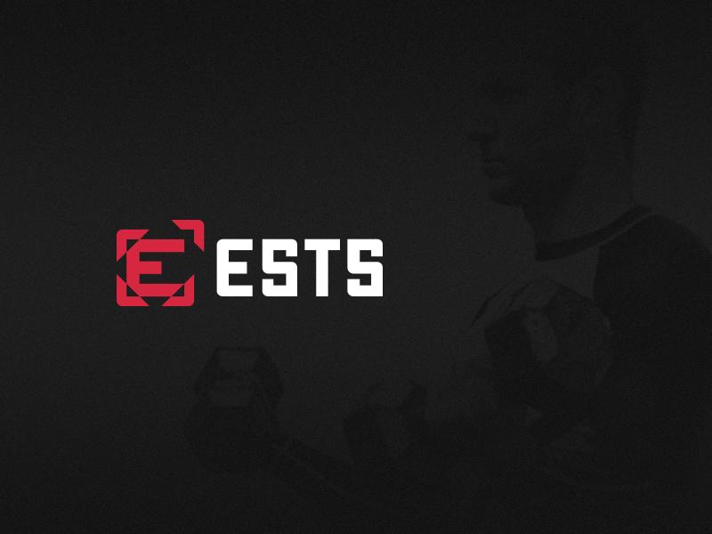 ESTS Visual Identity visual identity training workout coaching gym fitness branding logo